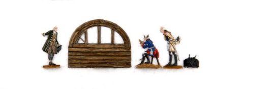 Preußen 1757, Friedrich II., Seydlitz und der Bürgermeister von Rossbach beobachten das