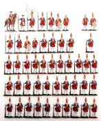 Preußen um 1720, Königsregiment, 1. Bataillon (Leib-Bataillon Grenadier, Rotes Leib-Bataillon,