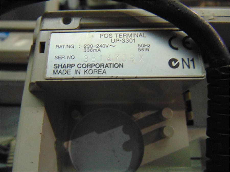 sharp pos terminal up x300 series manual