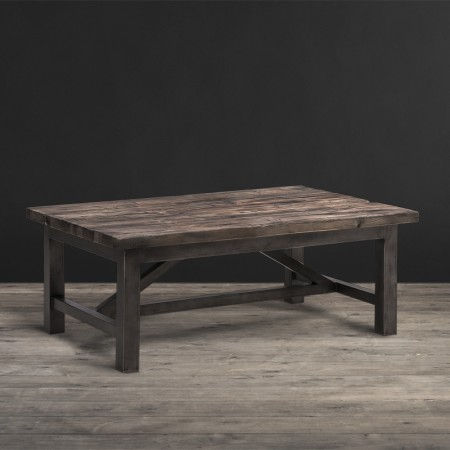 Lot 33a - Axel Coffee Table The Axel Range Combines Old World And Industrial With Its Combination of Reclaimed