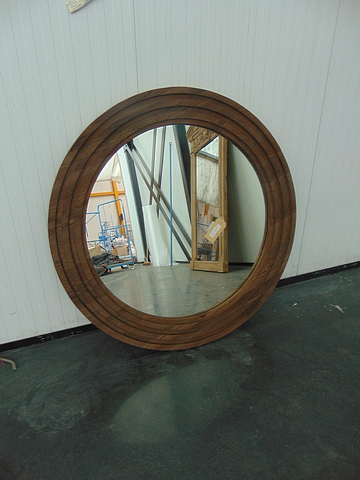 Lot 71 - Concentric Round Mirror Tavern 122 X 5 X 122cm