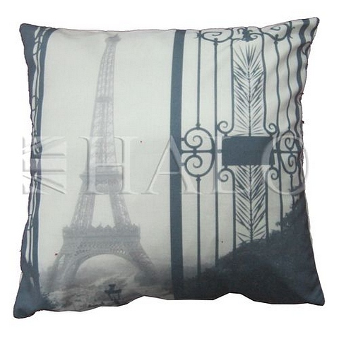 Lot 74 - Emelie's Eiffel Tower Cushion 45 X 45 X 15cm