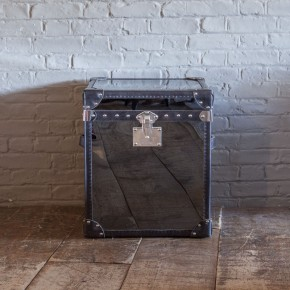 Lot 64 - Baron This Trunk Side Table Offers The Perfect Accent A Room With Added Storage The Sleek Finished