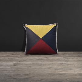 Lot 79 - Blind Semaphore R Cushion Pillow