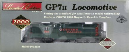 Diesellok H0. Proto 1000 Series 23976. Amerikanische Diesellok GP7/II der Western Pacific in OVP.