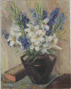 Tritschler E. XX. Jh. Blumenstillleben um 1930. Öl auf Leinwand. Größe ca. 54 x 42 cm. Nicht