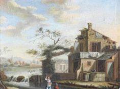 Michau, Theobald 1676-1765 Nachfolger. Oder Umkreis. Typisch flämische Genreszene mit einer