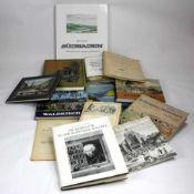 Konvolut Bücher. 13 Bücher zum Thema Schwarzwald. Gesamtgewicht ca.10, 3 kg.