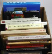 Konvolut Bücher. 16 Bücher zu kunsthistorischen Themen wie dem weiblichen Akt, der Porträtkunst,