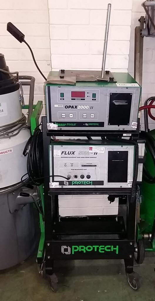 protech flux 5000 ii infrared exhaust gas analysing module opax 2000 ii rh i bidder com