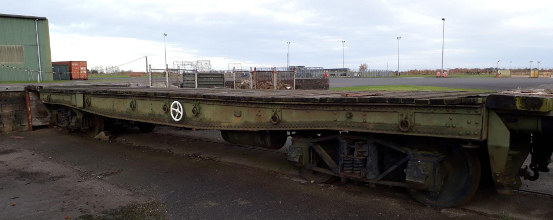 Warflat rail wagon, Built by Metropolitan – Cammell Carriage & Wagon Co Ltd Birmingham 194