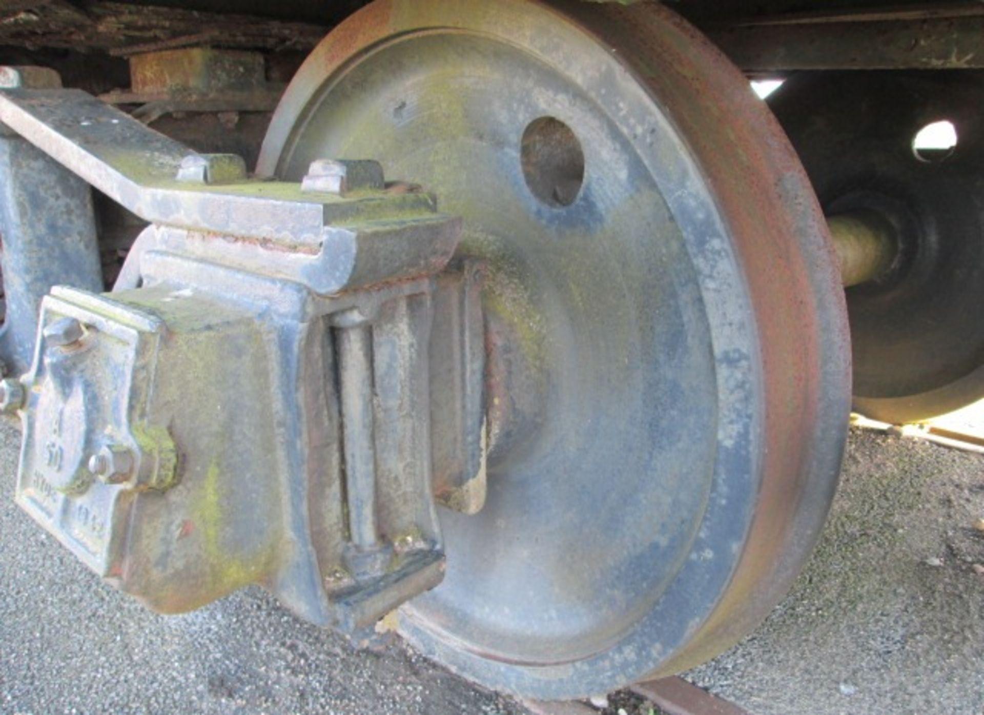 Warflat rail wagon, Built by Metropolitan – Cammell Carriage & Wagon Co Ltd Birmingham 194 - Image 5 of 13