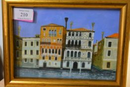 Archie Dunbar McIntosh R.S.W., R.G.I. (Scottish, b. 1936), Venice, signed lower right, acrylic, Open