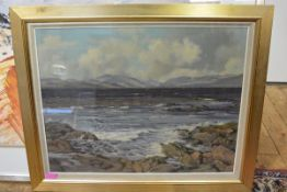 Robert Forsyth (fl. 1950-96), Firth of Clyde Looking Towards Loch Long, signed lower left, oil on