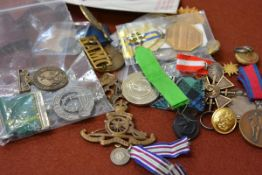 A group of modern medals including Association of Asian War Veterans stars, H.M.S. Royal Arthur