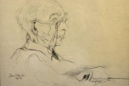 James Miller R.S.A., R.S.W., (Scottish 1893-1987), Portrait of Roderick MacDonald of Dunvegan,