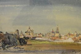 James Miller R.S.A., R.S.W., (Scottish 1893-1987), Carmona (Andalusia, Spain), signed, titled in the