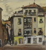 James Miller R.S.A., R.S.W., (Scottish 1893-1987), Tarazona (Spain), signed and inscribed,