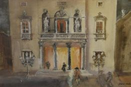 James Miller R.S.A., R.S.W., (Scottish 1893-1987), Teatro La Fenice, Venice, signed, titled in the