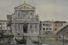 James Miller R.S.A., R.S.W., (Scottish 1893-1987), Gli Scalzi (Venice), signed and inscribed,