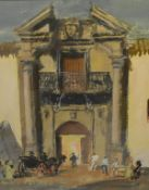 James Miller R.S.A., R.S.W., (Scottish 1893-1987), The Bull Ring, Ronda (Spain), signed, titled in