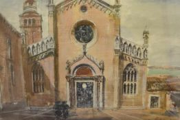 James Miller R.S.A., R.S.W., (Scottish 1893-1987), Madonna dell' Orto (Venice), signed, titled in