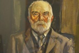 James Miller R.S.A., R.S.W., (Scottish 1893-1987), The Old Crofter, signed and dated 1935,