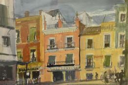 James Miller R.S.A., R.S.W., (Scottish 1893-1987), Plaza del Altozano, Triana (Seville), signed