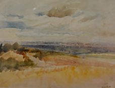 """Sir Frank Short R.A., P.R.E., (1857-1945), """"Kinver Edge and Black Country"""", signed lower right,"""