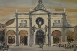 James Miller R.S.A., R.S.W., (Scottish 1893-1987), Santa Maria Formosa (Venice), signed, titled in
