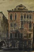 James Miller R.S.A., R.S.W., (Scottish 1893-1987), The Gondolier, signed, watercolour, framed. 36.