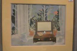 Barbara Balmer R.S.W., R.G.I. (Scottish, b. 1929), Outlook, signed, watercolour, framed. 30cm by