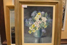 Elizabeth Mary Watt (1885-1954), Floral Still Life, signed, watercolour, framed. 31.5 by 24cm