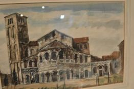 James Miller R.S.A., R.S.W., (Scottish 1893-1987), Santa Maria e Donato (Murano, Venice), signed,