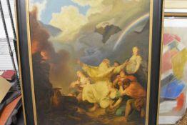 Studio of Philippe Jacques de Loutherbourg R.A. (Strasbourg 1740-1812 London), Noah's Sacrifice, oil