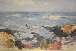 Attributed to Robert Gemmell Hutchison R.S.A., R.S.W., (Scottish 1855-1936), East Lothian Coast,