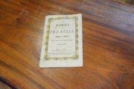 BOLLES, John R. The Story of the Two Bulls, New York, Kiggins & Kellogg, [1856] 'Entered,
