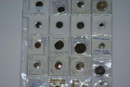A mix of Byzantine, Gaelic and Roman coins, condition largely poor but some interesting and in