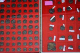 Approximately one hundred Roman coins of the 3rd century, all fair to fine condition