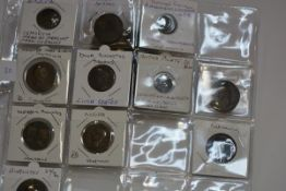 An interesting group of early Roman coins, mostly sestertii, 1st Century (9)