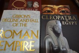 A large collection of Classical reference books, including Roman, Greek and Egyptian, both hard back