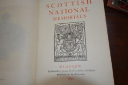 Scottish National Memorials, A Record of the Historical and Archaeological Collection in the Bishops