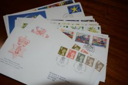 A large collection of GB First Day Covers, c. 450