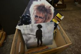 "A group of 1980's LP's and EP's including ""The Cure, Boys Don't Cry"", ""Pet Shop Boys, West End"
