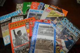 A large collection of U.K. football programmes, 1970's - 2000's including Arsenal, Celtic, Sheffield