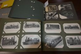 An extensive collection of largely European railway postcards, early 20th century and later,