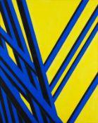 Florentina Pakosta * Wien 1933 geb. Ohne Titel Acryl auf Leinwand 150 x 120 cm 1991 rückseitig