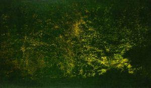 Anne Hausner * Hamburg 1943 geb. Lichterwald Öl und Acryl auf Holz 100 x 170 cm 2014 rechts unten