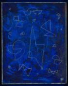 Hildegard Joos Sieghartskirchen 1909 - 2005 Wien Ohne Titel Acryl auf Leinwand 50 x 40 cm 1993