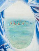 Johanna Kandl Wien 1954 geb. Ohne Titel Öl auf Leinwand 69,5 x 54,5 cm 1980er Jahre Die Künstlerin